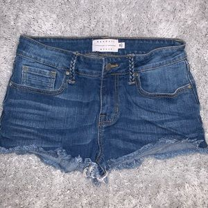 Kendall & Kylie Low Rise Shorts